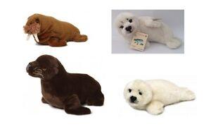 Stofftiere Seelöwe oder Robbe Kuscheltier Plüsch Seerobbe NEU WWF Plüschtier Walross
