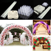 Full Set Balloon Arch Column Kit Floor Base Stand For Wedding &party Extra Large