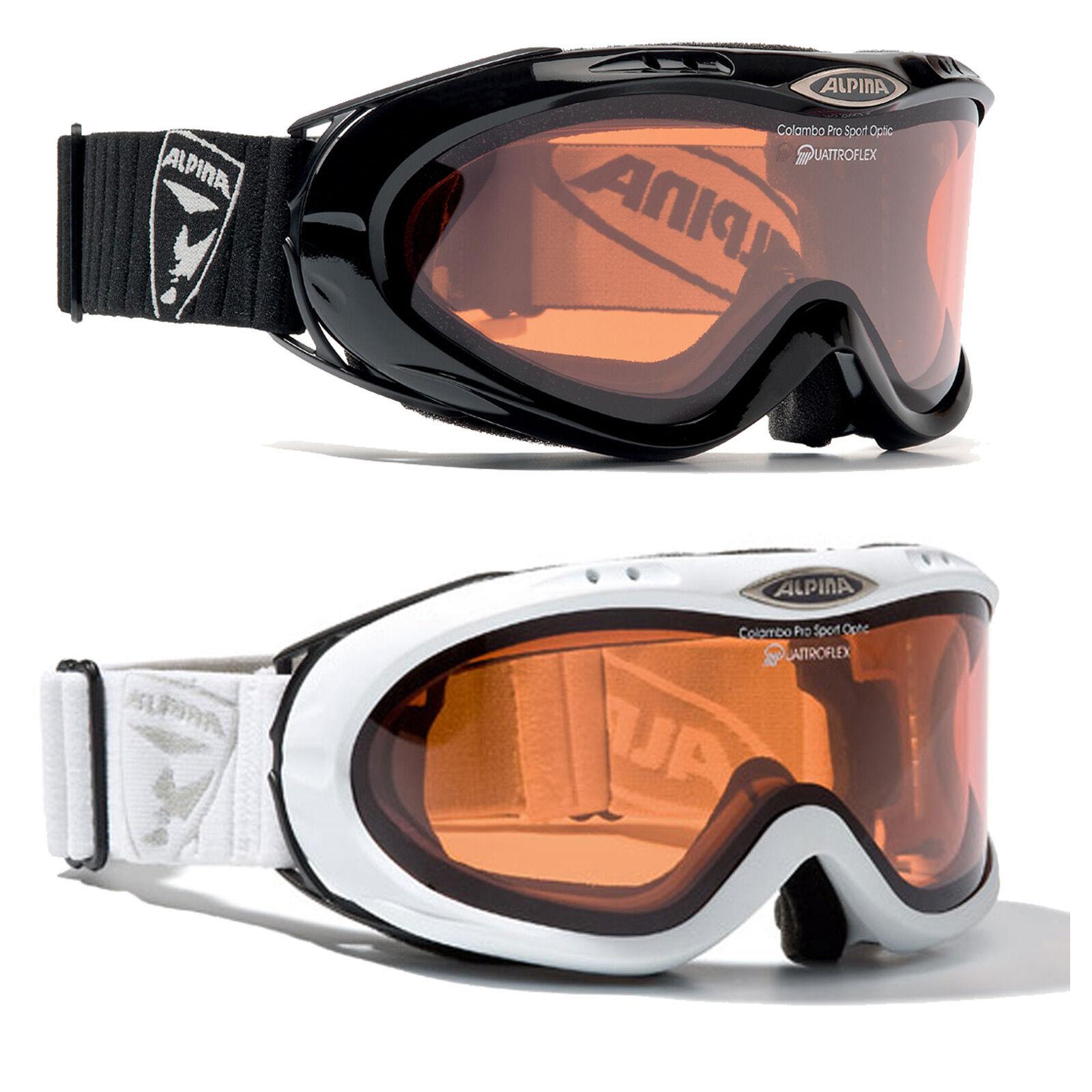 Alpina Colambo - - - Skibrille Snowboardbrille Goggle Quattroflex f124cc