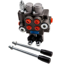 2 Spool Hydraulic Directional Valve 11 Gpm 11gpm For Log Splitters Small Tractor