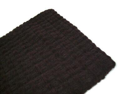 "Pottery Barn Basket Weave Chenille Dark Brown Sofa Toss Pillow Cover 20/"" New"