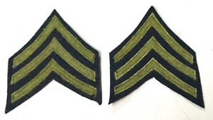 WWI US PRIVATE FIRST CLASS TUNIC JACKET SLEEVE RANK CHEVRONS