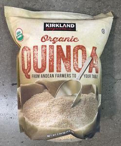 Details about Quinoa Kirkland ORGANIC QUINOA 4 5 LB quinua