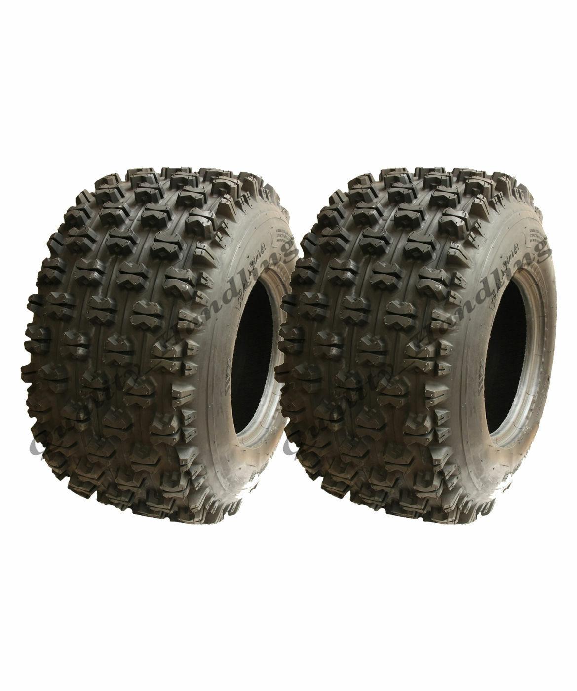 2 Stück Quetschdruck Quad Reifen 22x11-9 Wanda Rennen Reifen E-Zeichen Reifen