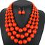 Women-Bohemian-Choker-Chunk-Crystal-Statement-Necklace-Wedding-Jewelry-Set thumbnail 144