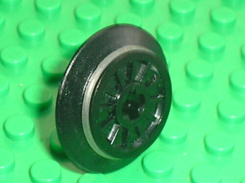 Set 7939 10219 3977 7938 7898.. Roue LEGO Wheel for RC Train with rubber 55423