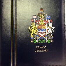 FREE Ship USA * Lighthouse Vista Canada Coin Album 2 Dollar Toonie 1996 - Date