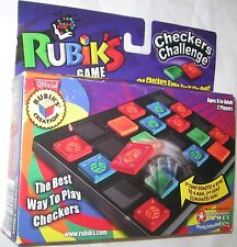 New Rare Rubik's Checkers Challenge by Winning Moves Games Free Shipping U.S.A.