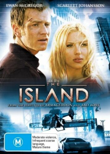 1 of 1 - The Island (DVD, 2005)*R4*VGC*Ewan McGregor*