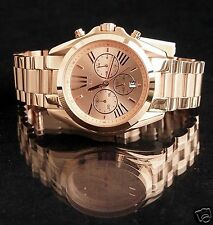 Original Michael Kors Uhr Damenuhr MK5503 BRADSHAW XL Farbe:Rose Gold  NEU