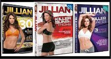 Jillian Michaels KILLER BUNS + KILLER ABS + RIPPED IN 30 + FREE Fitness Bonuses!
