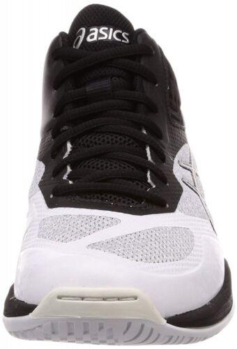 Voleibol Cilíndrico Zapatos Ff Netburner Control Blanco Negro Con Mt Nuevo Asics SnIq55