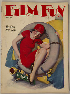 Vintage May 1927 Film Fun Magazine Sexy Stowaway Enoch Bolles Cover Art