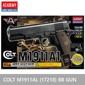ACADEMY-Colt-M1911A1-17218-Airsoft-BB-Toy-Gun-Replica-Full-Size-Non-Metal-Pistol