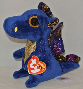 8227580df0a Image is loading Saffire-The-Blue-Dragon-Plush-Soft-Toy-Ty-
