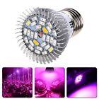 28W E27 Full Spectrum LED Grow Light Growing Lamp Bulb For Flower Seed Plant Veg