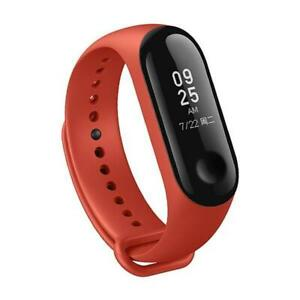FITNESS TRACKER M3 RED ROSSO XIAOMI HUAWEI SAMSUNG APPLE ANDROID IOS