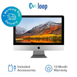Apple iMac i3 3.6GHz 21.5in 4K 2019 1TB HDD 8GB Ram eBay Certified - Excellent