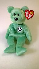 Ty Beanie Baby Kicks Bear With Tag Errors RARE Retired 1998 & 1999