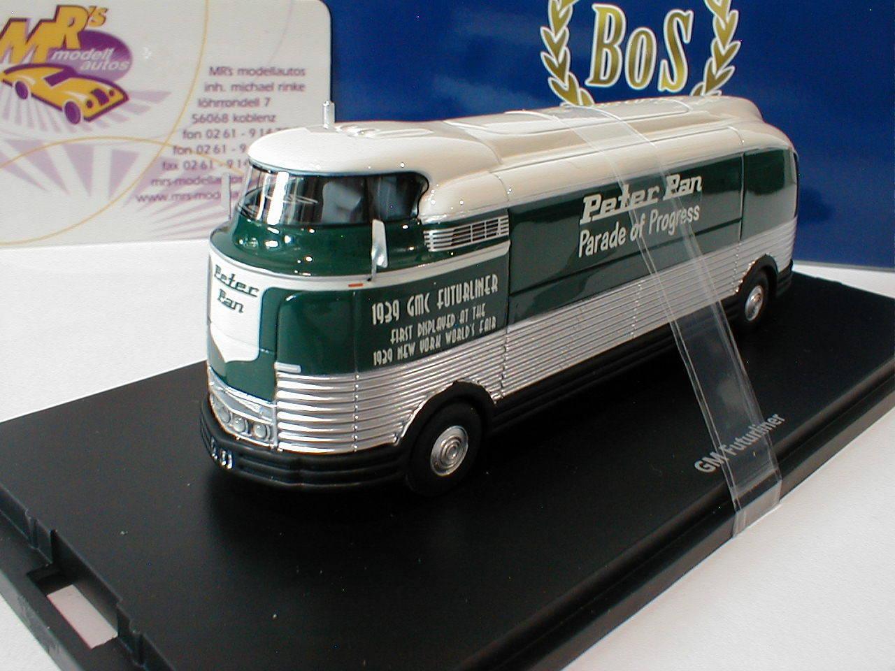 Best of Show 87266-GM Futurliner anno di costruzione 1941 in  bianco, verde, platao  1 87
