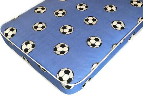 Garçons Football Matelas 2ft6 Petit Simple 75 cm x 190 cm x 16 cm haute livraison gratuite