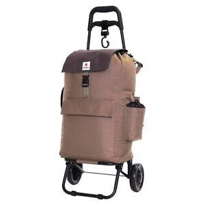 Karabar Halden Insulated 32L Shopping Trolley - Grey