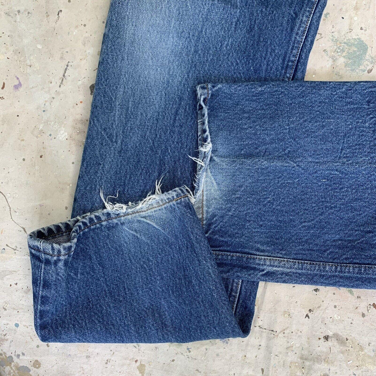 Vintage 90s Levis 501 Jeans Mens 36x36 - image 3