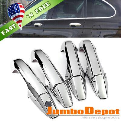 Chrome Side Door Handle Cover Trim Fit 2007 2008 2009 2010 2011 Honda CR-V CRV