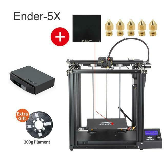 3D Ender-5 Large Size Mainboard Printer with Enhance Printing Stability