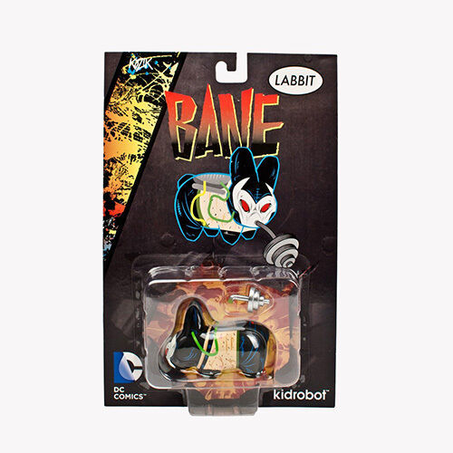 Kidrobot DC Comics Bane Labbit Vinyl Figure NEW Toys Collectible Figures