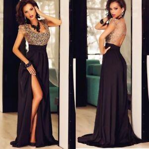 Kleid blau schwarz oder rot gold