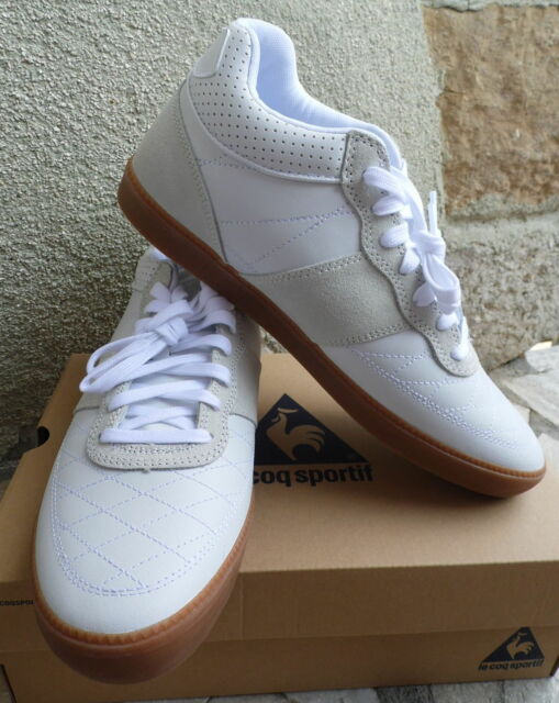 German army trainers style GAT HITOP Le Coq Sportif  Leather Sneakers BNIB