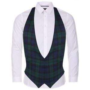 Blackwatch-Tartan-Backless-Waistcoat-Scottish-Fancy-Dress-Accessory