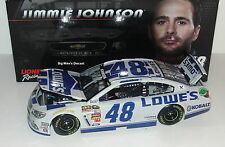 2014 Jimmie Johnson #48 Lowe's 1/24 Scale Diecast Liquid Color Finish