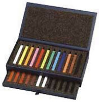 Conte Carres Crayons - 36 Colours Drawer Box