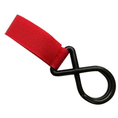 4Pcs Baby Buggy Pram Stroller Pushchair Trolley Swivel Diaper Bag Hanger Hooks