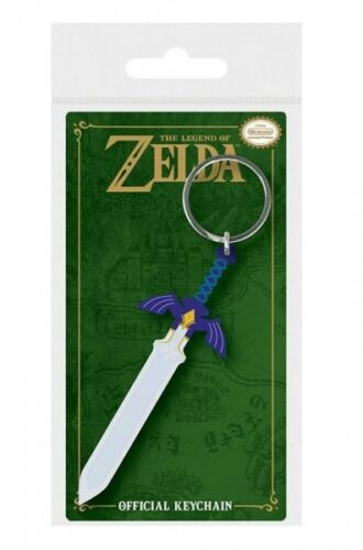 The Legend of Zelda porte-clés caoutchouc Master Sword 9 cm keychain 38699C