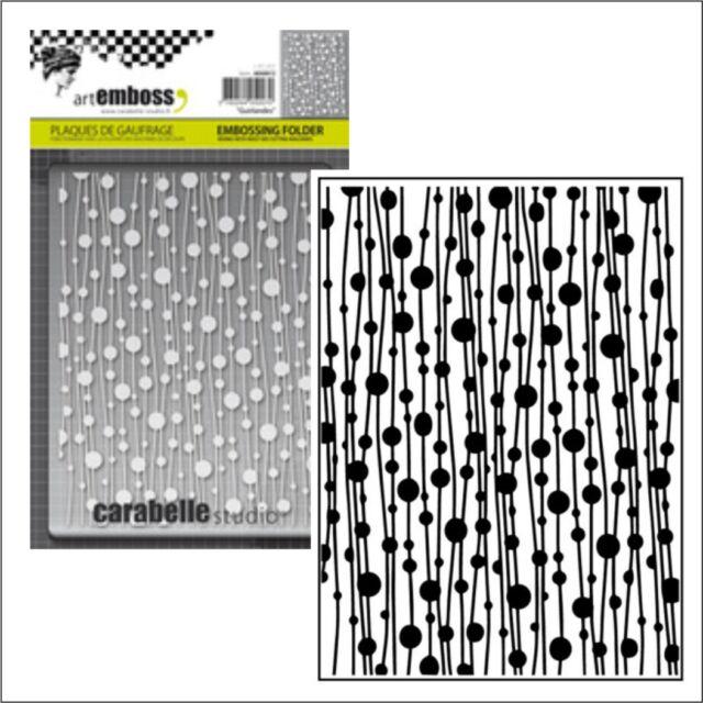 Carabelle Studio Embossing Folder-mini Galets
