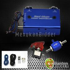 Blue Adjustable Turbocharger Dual Stage Manual Boost Controller Withrocket Switch Fits Mini