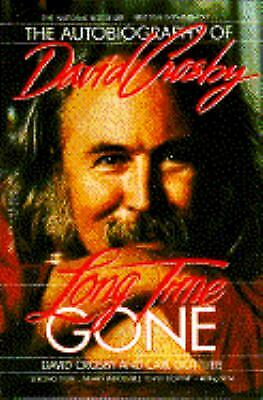 Long Time Gone by Crosby, David -ExLibrary