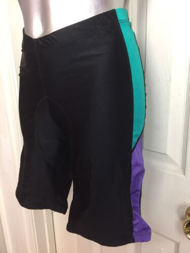 VINTAGE MENS J.T. ACTIF 80S DEADSTOCK BIKE SHORTS SIZE S SMALL NYLONSPANDEX
