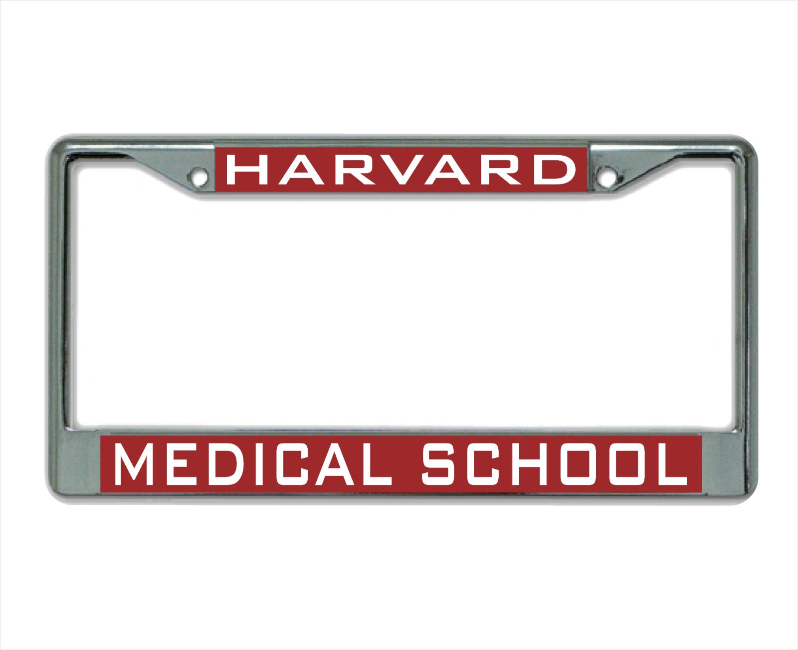 Harvard University MEDICAL SCHOOL License Plate Frame 2