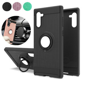 For-Samsung-Galaxy-Note-10-Note-10-Plus-Slim-Hybrid-Ring-Stand-Phone-Case-Cover