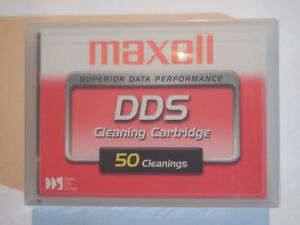 Maxell-DDS-DAT-Cleaning-Tape-Cartridge-4mm-50-Cleanings-NEW