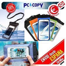 Funda PVC Bolsa Estanca, Impermeable, Sumergible Para móvil, camara, ipod/iphone