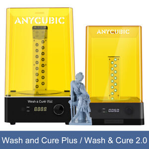 ANYCUBIC Wash and Cure Plus/Wash&Cure 2.0 UV-Licht Curing für SLA/LCD 3D Drucker