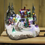 Christmas-Winter-Village-Scene-Ornaments-Musical-LED-Moving-Xmas-Decoration thumbnail 5