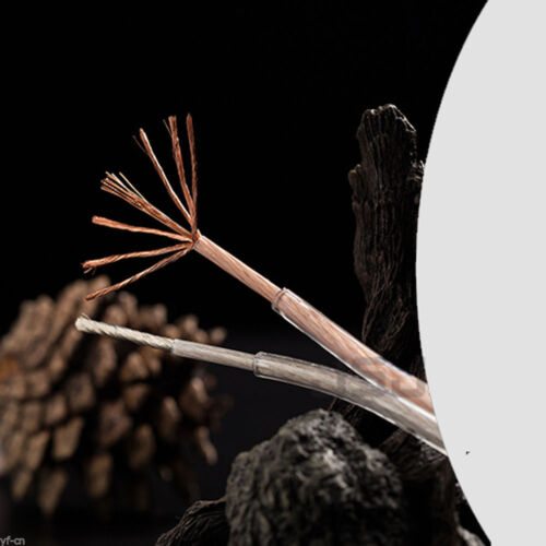 10meter Oxygen-free Copper HiFi Audio Speaker Cable Wire 2xcore Multi-Strand Lot