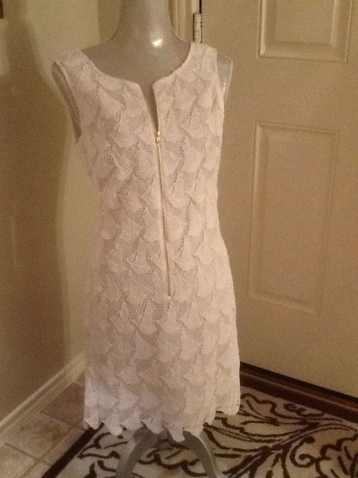 0d83fd6428f57f Lilly Pulitzer Resort White Lace Kolby Dress Boaty Sailboats 6 for ...