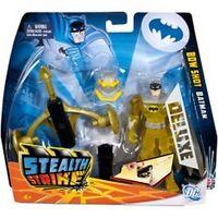 Batman Stealth Strike Deluxe Mattel Bow Shot Batman In Box